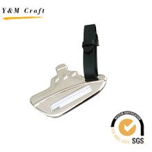 Kundengebundenes Fluglinien-Metall und PU-Leder Gepäckanhänger