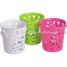 2015 Hot sales round Plastic Storage utility Basket