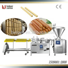 High speed twisting and automatic hang intestinal machine