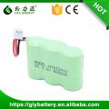 Batería recargable del teléfono de la batería del nimh de 2 / 3aa 3.6v 600mah