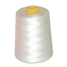Rohes Weiß 100% gesponnenes Polyester-Nähgarn