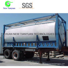 R32 Filling Medium High Quality Skid Tank Container Trailer