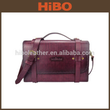 Outdoor hunting vintage style gamekeeper shooting leather field range bag