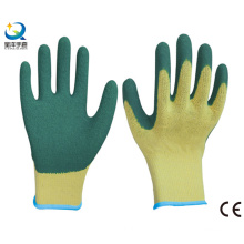 10g Cotton Shell Latex Palm Coated Work Gloves