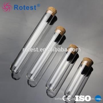 heat resistant borosilicate capillary glass test tube