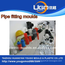 Plastic mold supplier for standard size pipe fitting plastic mould in taizhou China