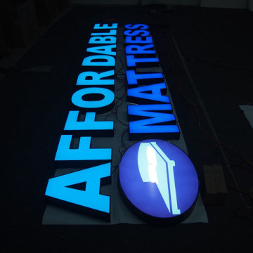 LED Sign Letters Signage inomhus utomhus