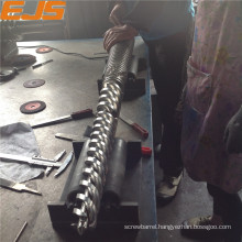 Top selling extruder conical twin screws barrels for haitian