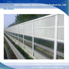 Barrière acoustique en aluminium à l'autoroute / chemin de fer à l'épreuve du feu Fabriqué en usine