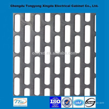 Direct factory top quality iso9001 oem custom decorative metal perforated sheets