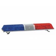 12V vermelho e azul polícia barra de luz Xenon Lightbar