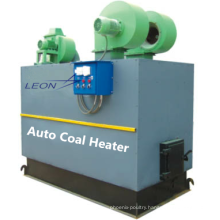 LEON automatic coal heater