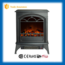 110-120V mini outdoor freestand electric fireplace stove heater
