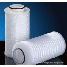 Absolut bewertet Polypropylen / PP gefaltete Membran Filterpatrone