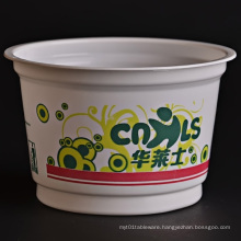 Disposable Plastic Bucket for Food