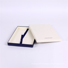 Custom made clothes paper box packaging for shirt