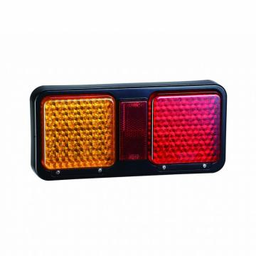 Lâmpadas quadradas LED Truck Tail Combination