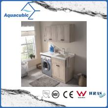 Double Doors Vanity do banheiro com armário lateral (ACF8909)