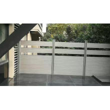 swimming pool composite wood private screen named wpc privacy fence