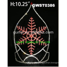 snow flake crowns and tiaras