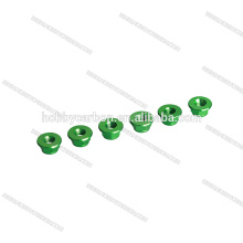 M5 Green color Lock nut Nylock Self Locking Hex flange Nuts