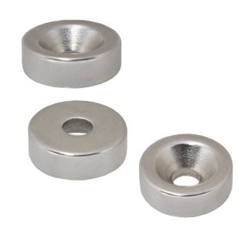N42 Round Countersunk Hole Magnet