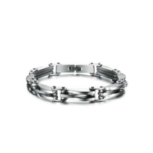 Auf Lager Armbänder aus Edelstahl für Frauen, wasserdichtes Armband, individuelles Logo-Armband
