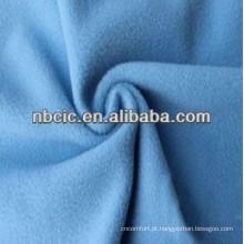 cor sólida ou impressão cor velo tecido uma direção
