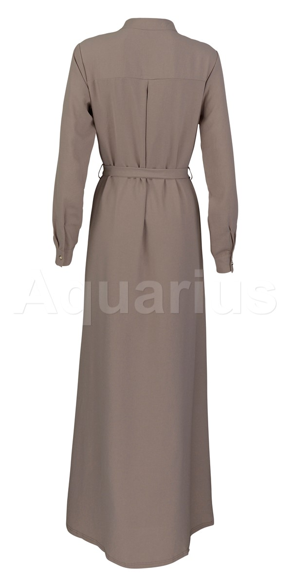 Abiti eleganti Button A Line Dress