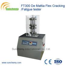 Testador de borracha / FT300 De Mattia Flex Cracking / Fatigue Tester