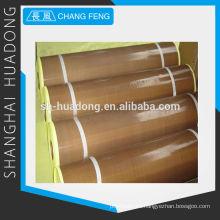 Recubierta de PTFE de fibra de vidrio adhesiva tela-la fábrica de productos PTFE en Shanghai