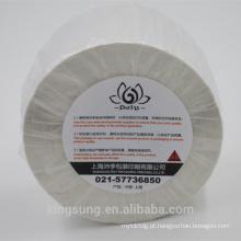 Rolo de etiqueta de papel em branco simples em tamanho personalizado