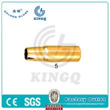 Газовая форсунка Kingg MIG / Mag / CO2 Tweco для сварочного факела