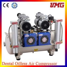 Воздушный компрессор 2 * 850 Вт