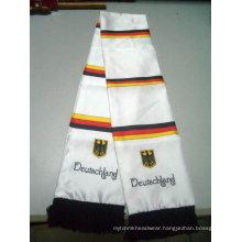 fashional knitted football scarfs