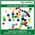 Calcium Vitamin D3 Tablet CAS 67-97-0