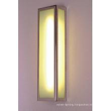 Glass Iron Modern Rectangular Wall Lamp From Rebecca Light
