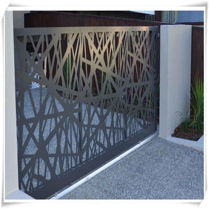 Laser Cut Metal Screen