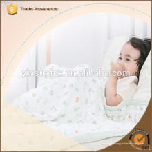 De alta qualidade Soft Touch 100% Muslin waddle cobertores fábrica a partir de China