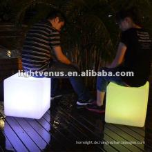 PE-Material, bunter LED-Würfel