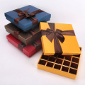 Luxury printed 25 packs chocolate gift box