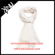 Silk Twill Fabric Manufacturing Large White Silk Scarves Wholesale