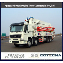 37m&42m 8X4 HOWO 380HP Concrete Pump Trucks with Rhd Type