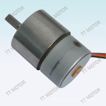 GM37-35BY 12v dc stepper motor with 4 phase and 7.5 step angle