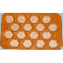 pour l'affichage dans le marché ou la protection dans le type de processus de boursouflure de transport doublure en plastique pour l'emballage de fruit