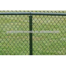 Gute Qualität heiß getaucht galvanisierte Kette Link Zaun