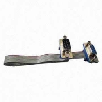 IDC DSUB flat cable assembly