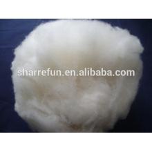 laine d'agneau blanc naturel chinois 16.5mic 30mm