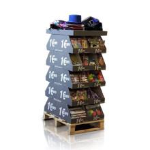 Contenedores de doble cara de cartón para artículos de conveniencia