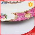 Assiette de fruits à dessert en porcelaine royale pour fêtes et cadeaux de mariage